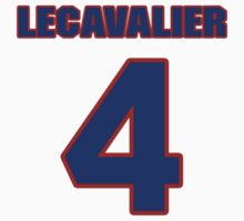 National Hockey player Vincent Lecavalier jersey 4 by imsport