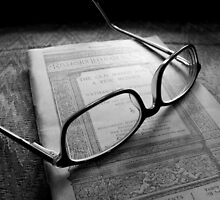 Reading Nathaniel Hawthorne by Jimmy Ostgard