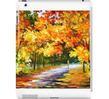 THE PATH OF SUN BEAMS - Leonid Afremov Landscape iPad Case/Skin