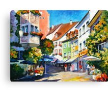 Sunny Germany - Leonid Afremov Canvas Print