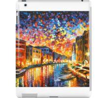 VENICE - GRAND CANAL - Leonid Afremov CITYSCAPE iPad Case/Skin