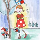 Polka Dot Girl by Andi Morton