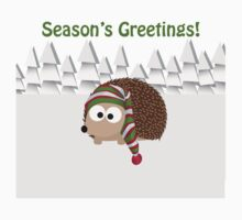 Season's Greetings! Cute Hedgehog Kids Clothes