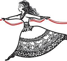 Ribbon Dancer by Katelyn Ratajczak