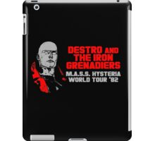 Destro And The Iron Grenadiers World Tour '82 iPad Case/Skin