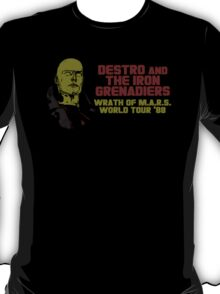 Destro And The Iron Grenadiers World Tour '88 T-Shirt