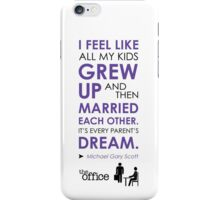 The Office Finale -- Michael iPhone Case/Skin