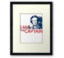 I Am the Captain Framed Print