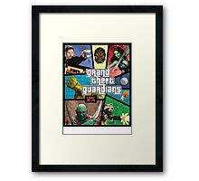 Grand Theft Guardians | Guardians of the Galaxy Framed Print