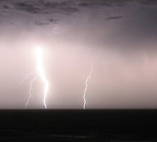 Lightning Strikes by Colin Chuang