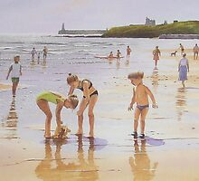Summer at Tynemouth by Brian Towers
