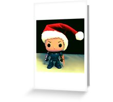 Xmas Shephard Greeting Card