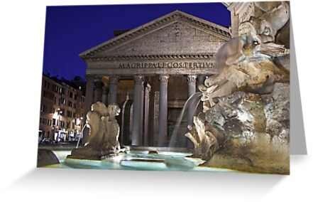 Rome - Pantheon by Claudia Reitmeier