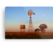 Evening Glow - Narrandera Metal Print