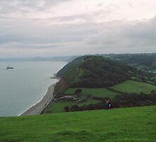 hills near beach by calipix