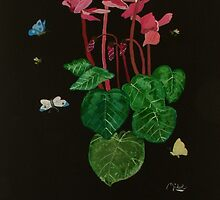 Cyclamen by mikeloughlin
