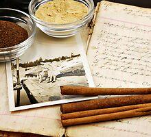 Vintage Cookbook by Karin  Hildebrand Lau