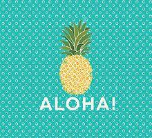 pineapple aloha by stephaniewoon