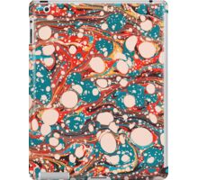 Psychedelic Marbling Paper Blob iPad Case/Skin
