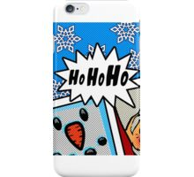 Pop Art Ho Ho Ho iPhone Case/Skin