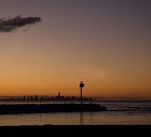 Coolangatta Sunset by Judy Harland