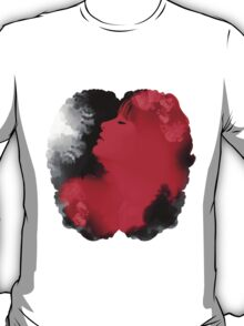 Psychedelic Ink Red Girl T-Shirt