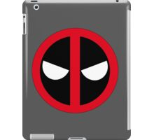 Angry Deadpool Icon  iPad Case/Skin