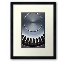 Genuine Steel Framed Print