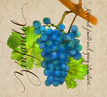 Wine Country Varietal Line from FountainArts™ : Zinfandel by Carol Fountain Nix