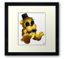 Chibi Golden Freddy 2 Framed Print