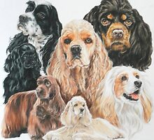 American Cocker Spaniel by BarbBarcikKeith