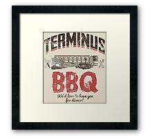 Terminus BBQ Framed Print