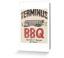 Terminus BBQ Greeting Card