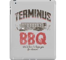 Terminus BBQ iPad Case/Skin