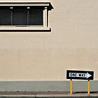 One Way by Simon Deadman
