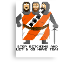 Threed Headed Giant - Monty Python and the Holy Pixel Metal Print