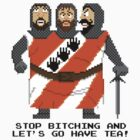 Threed Headed Giant - Monty Python and the Holy Pixel by Gwendal