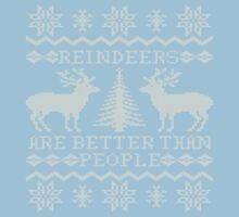 Reindeers Are Better Than People by Kiki B