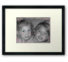 Friendship Sisters Framed Print