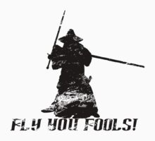 Gandalf - Fly You Fools! T-Shirt