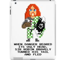 Sir Robin - Monty Python and the Holy Pixel iPad Case/Skin