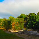 Aysgarth -the end of the rainbow by Steve