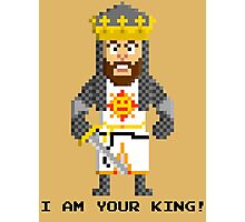 King Arthur - Monty Python and the Holy Pixel Photographic Print