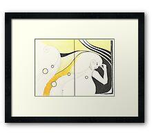 Sketchbook Jak, 20-21 Framed Print