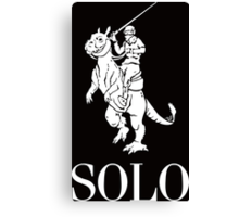 SOLO wht by Tai's Tees Canvas Print
