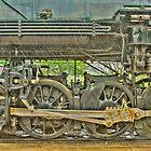 Locomotive Wheels by Marilyn Cornwell