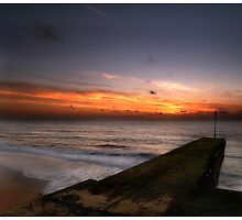 Jetty sunrise by Paul Tremble