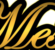 Mesa  Amp Vintage Gold Sticker