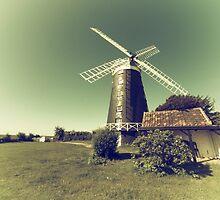 Windmill Glow  by Rob Hawkins