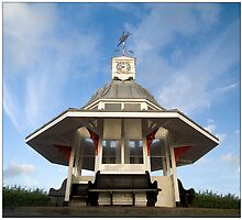 Clock tower shelter by Paul Tremble